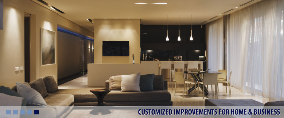 CUSTOMIZED IMPROVEMENTS FOR HOME & BUSINESS basement