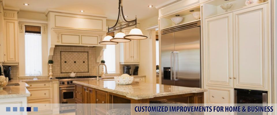 CUSTOMIZED IMPROVEMENTS FOR HOME & BUSINESS kitchen