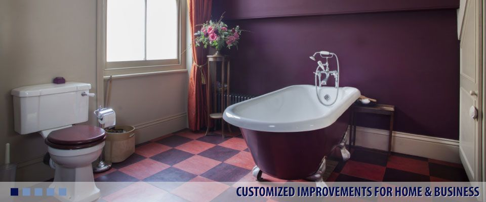 CUSTOMIZED IMPROVEMENTS FOR HOME & BUSINESS bathroom